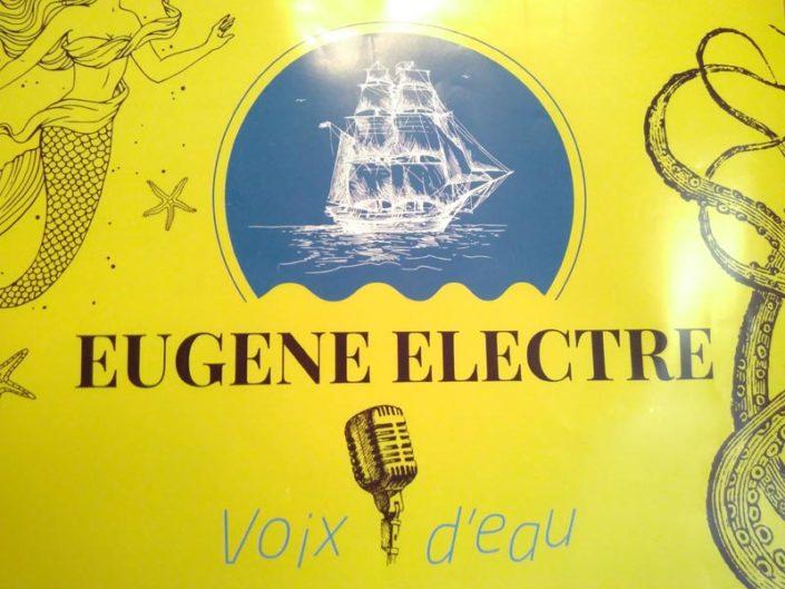 Eugène Electre - Voix d'eau au Tréseaur le 29 Juin à partir de 19 heures !