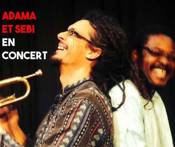 Adama et Sébi en concert au Tréseaur